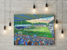 the shay  canvas a3 size